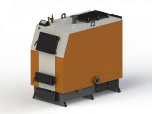 Котел твердотопливный KOTLANT КВ-125 (с электронной автоматикой и вентилятором)