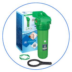 Корпус фильтра антибактериальный трехэлементный Aquafilter FHPR12-3_R-AB