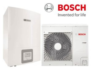 Тепловой насос «воздух-вода» Bosch Compress 3000 AWBS 8 сплит система