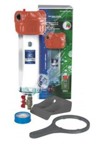 Корпус фильтра трехэлементный для горячей воды Aquafilter F10NN2PC-V_R