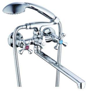 Смеситель для ванной ZEGOR D5Q- G-lauf-QSL-725 (143)