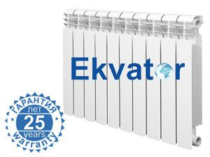 Радиатор биметаллический EKVATOR/SUMMER 500/85