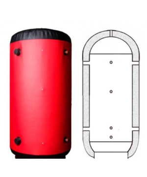 Теплоаккумулятор с теплоизоляцией FORWARD FT-00-300 L