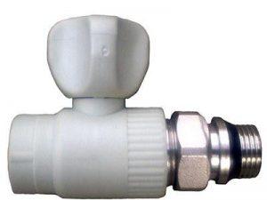 Вентиль радиаторный прямой с резинкой ASG-plast