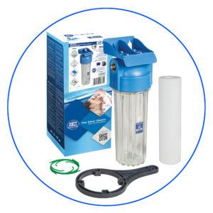 Корпус фильтра двухэлементный Aquafilter FHPR34-HP1