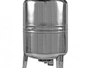 Гидроаккумулятор 80л нержавейка, вертикальный