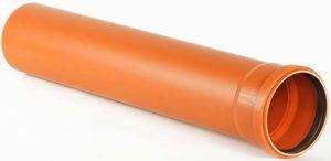 Труба с раструбом Ø 110х2,2 наружная канализация