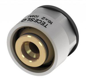 Альтернативный переходник, для труб универсальных многослойных PE-Xc/ AL/PE (евроконус) 16 х 3/4″