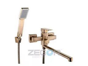 Смеситель для ванны ZEGOR LЕB7- А123-Т цвет бронза
