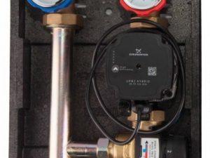 Насосная группа с термосмесительным клапаном R004 ICMA