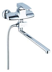 Смеситель для ванны ZEGOR GEN-075-375