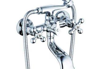 Смеситель для ванны ZEGOR DAK- G-lauf-A827(142)