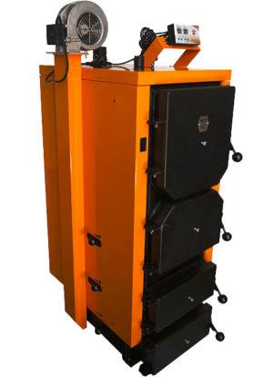 Котел твердотопливный DTM TURBO 40 кВт