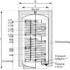 Буферная емкость GALMET SG(B) 2W Bufor 1000 9740