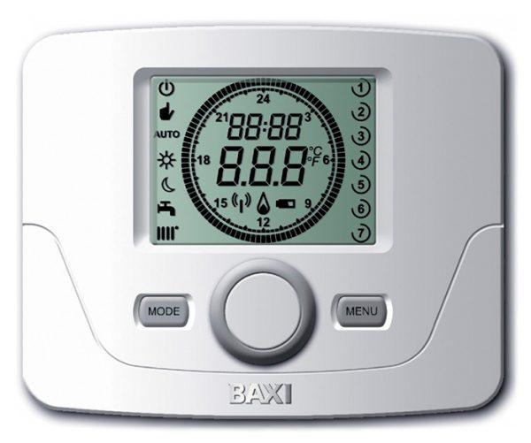 Термостат недельный, комнатный Platinum (проводной, модулируемый)