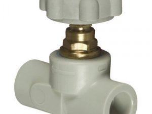 Вентиль прямоточный пластиковый ASG-plast (клапан прямоточный)