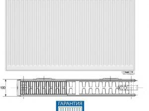 Радиатор стальной Korado 22VK 300х1100