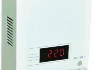 Стабилизатор напряжения LVT АСН – 300Н