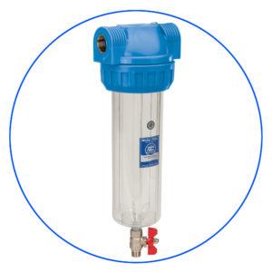 Корпус фильтра трехэлементный с промывкой Aquafilter FHPR34-3VS